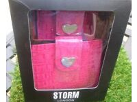 STORM LONDON WALLET & MOBILE PHONE CASE GIFT SET
