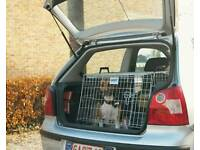 Savic residence mobile dog car crate / cage - wide