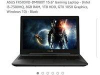 Asus FX503v Gaming Laptop Brand new
