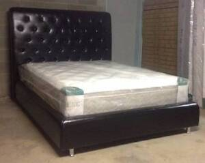 Brand New Pu Leather Queen French Style With High Bedhead  1500mm Seven Hills Blacktown Area Preview