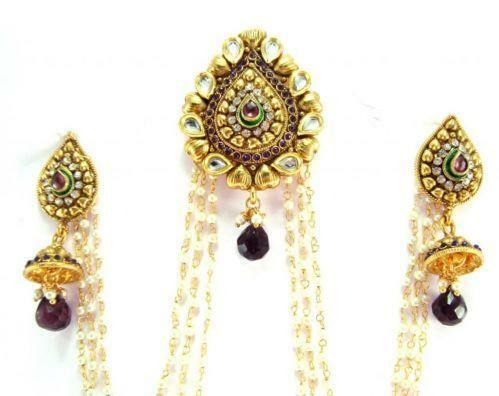 Indian hair jewelry ebay for East indian jewelry online