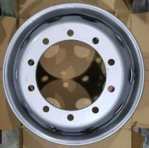 As New 7 Steel truck rims - 22.5 x 8.25 - 10 x 335 PCD Euro fit Seaford Morphett Vale Area Preview