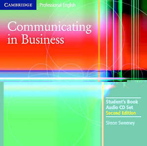 Communicating in Business Audio CD Set (2 CDs) (Cambridge Professional English),