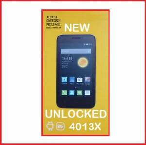NEW 3G ALCATEL 4013X UNLOCKED  4 INCH 2MPX CAMERA $50 Castle Hill The Hills District Preview