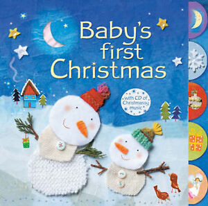 Baby's First Christmas (Book & CD), Fiona Watt | Board book Book | Acceptable |
