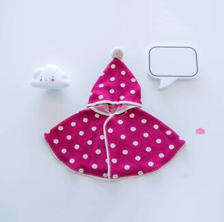 【NEW】made in Japan, gift for new born baby girl, Cloak, mantle