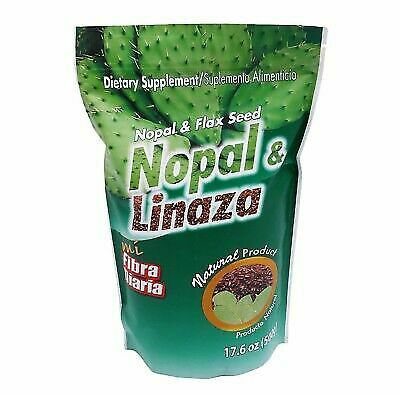 NOPAL LINAZA 100% NATURAL 1LB.