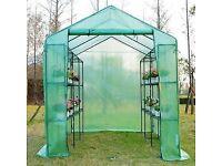 Brand new walk in greenhouse