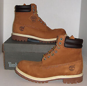 "TIMBERLAND Waterproof Rust 6"" WATERPROOF SIZE 9"