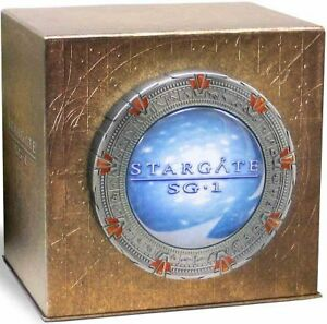 STARGATE SG-1 COMPLETE SERIES COLLECTION New 54 DVD Set Seasons 1-10
