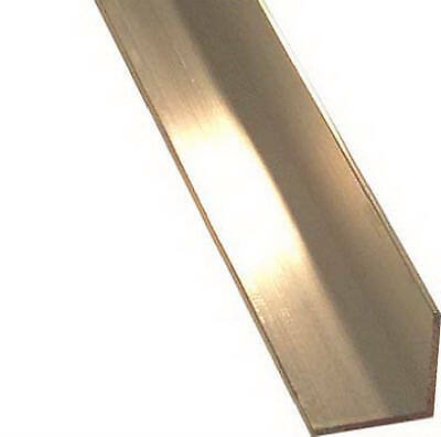 Aluminum Angle, 1/8 x 1.25 x 1.25 x 48-In.
