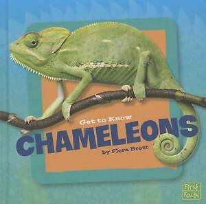 Get to Know Chameleons by Brett, Flora 9781491420591 -Hcover
