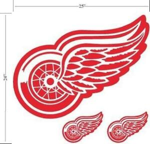 Detroit Red Wings Licensed Wall Decal (New) Calgary Alberta Preview
