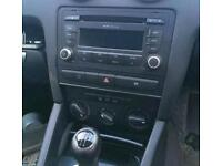 Audi double din cage or complete unit available
