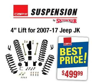 "4"" LIFT KIT 07-17 JEEP JK WRANGLER"