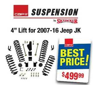 "4"" LIFT KIT 07-16 JEEP JK WRANGLER Regina Regina Area image 1"
