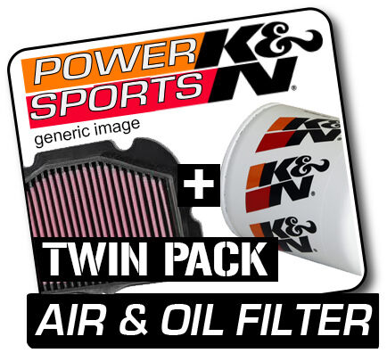YAMAHA YZF R6 599 1999-2005 K&N KN Air & Oil Filters Twin Pack! Motorcycle