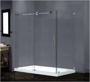Shower Doors, Enclosures & Bath Tubs On Sale Now