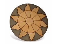 AURORA CIRCLE 1.8M PATIO PAVING FEATURE KIT ONLY £169.99 CORNER INFILL ALSO AVAILABLE