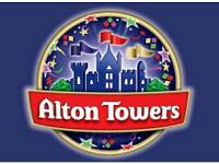 2 x Alton Towers tickets for Saturday 08th September