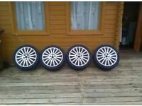 4x FORD MONDEO ST220 WHEELS