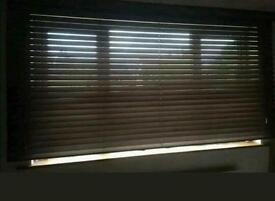 Deluxe sunroof beech wooden blind 2280 X 1130