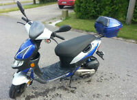 2010 Keeway Hurricane Scooter 49cc electric start