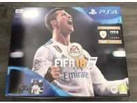Brand new PS4, NEVER USED + 3 GAMES + 12 Months warranty.