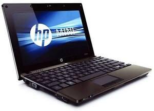 "Ordinateur portable, laptop HP Netbook intel 160 GB win 7 10"""