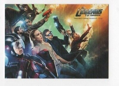 Cryptozoic Legends Of Tomorrow Base Set 1 72   3 Insert Sets 99 Total
