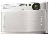 Sony Super Compact Camera DSC-TX1 (ultra slim, ultra compact) + with additional spare battery £35