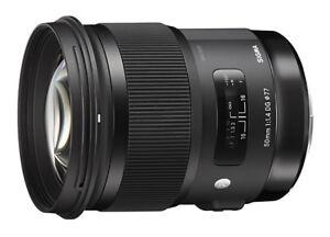 Sigma 50 mm f/1,4 DG HSM pour Canon