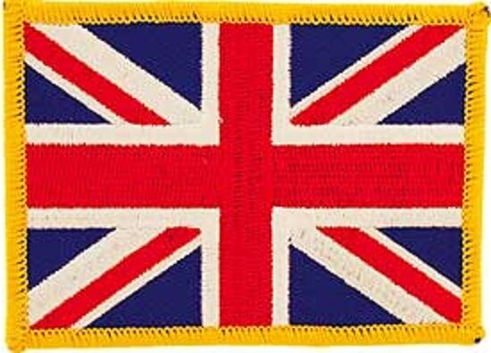 Embroidered International Patch National Flag of England NEW flag