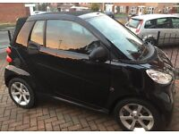 Smart Fortwo Pulse, Eco 2010 cabriolet, 46kmiles cheap, px/swap , polo, corsa, Astra, civic,