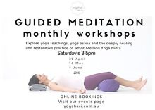 YOGA- Guided Meditation Workshops Burwood East Whitehorse Area Preview