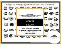 One-to-One English Conversation Classes