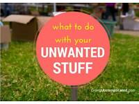 Unwanted stuff Unwanted goods donate