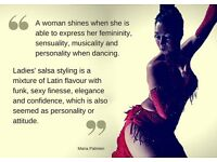 LATIN DANCE CLASSES FOR LADIES
