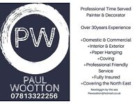 Paul Wootton Decorating Service - North East England