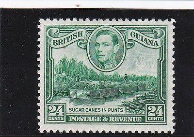 British Guiana G6 1938 SG 312 - 24 cents wmk.upright  Light Mounted Mint - A450