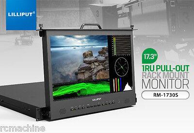 """Lilliput 17.3"""" RM-1730S Full HD 3G-SDI HDMI Metal case Broad"""