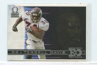 TERRELL DAVIS 2000 Pacific Omega EO Portraits  #6 Denver Broncos