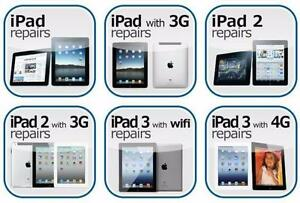 [ BEST DEAL ] APPLE iPAD 2, 3, 4, iPAD MINI, iPAD AIR, AIR 2 iPHONE CRACKED SCREEN REPAIR [ FAST ON SPOT ]