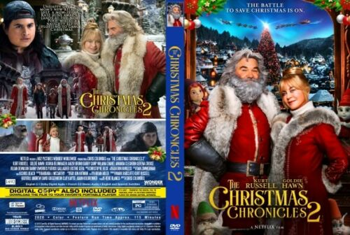 Christmas Chronicles (Part) <Two> DVD Brand New & Sealed Kurt Russell *Free Ship
