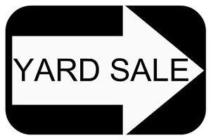 YARD SALE - Outfit your apartment or student housing in one stop