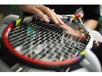 Tennis Racket Stringing