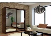 HIGH QUALITY BERLIN WARDROBE FULL MIRROR DOOR MADE BY GERMANY