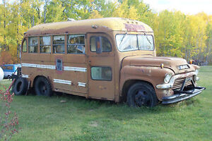 1957 GMC 30 Passenger School Bus
