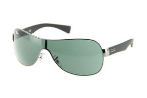 35431f2320 Ray-Ban Rb3471 004 71 32mm Gunmetal Frame green Lens Sunglasses for ...