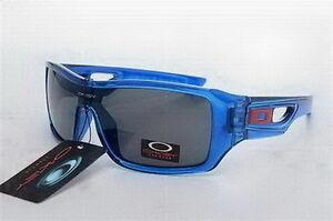 Oakley Eyepatch 2 Sunglasses Crystal Blue Frame Black Lens